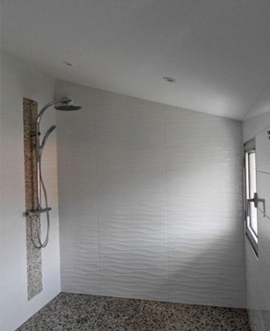 Coren Access réalise l'aménagement d'une salle de bain.